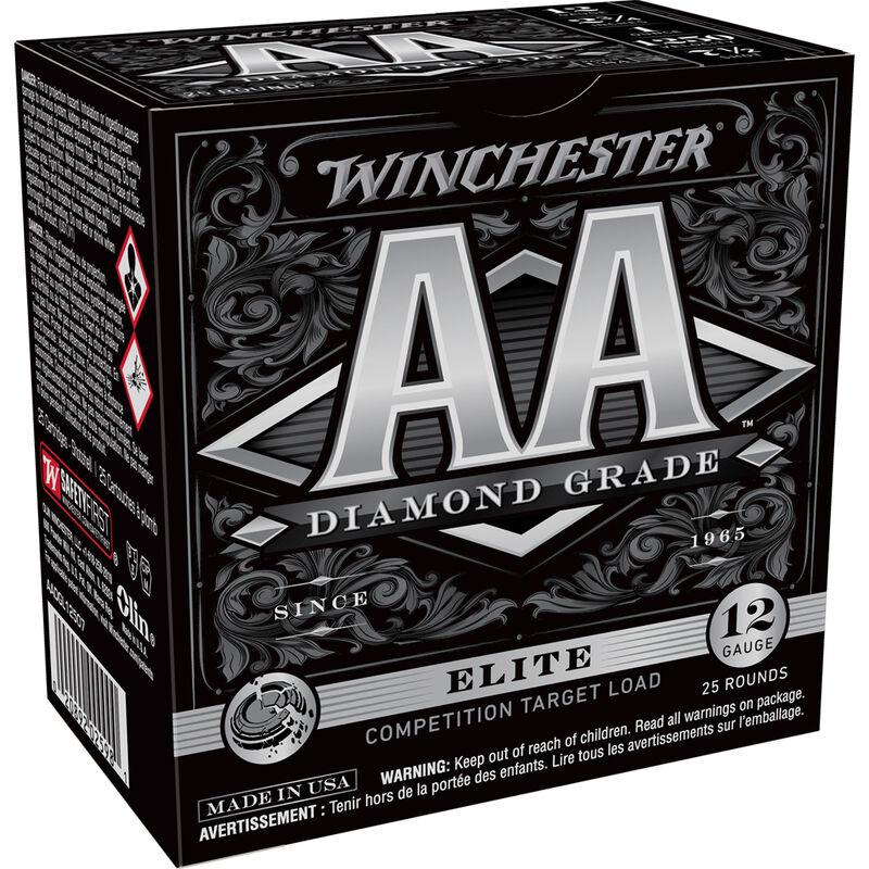 """Winchester AA Diamond Grade 12 Gauge Ammunition 25 Rounds 2 3/4"""" #7.5 1 Ounce AADGL12507"""