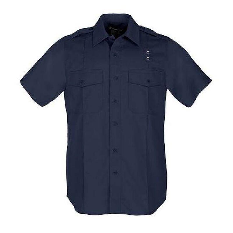 5.11 Tactical Women's Class A Taclite PDU Short Sleeve Shirt Polyester Large/Regular Midnight Navy 61167