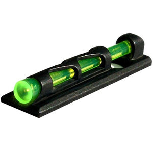 HiViz LITEWAVE COMPSIGHT Fiber Optic Universal Fit Vent Rib Shotgun Front Sight Red/Green/White Steel Black PMLW01