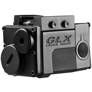 Barska Micro GLX Red Laser Picatinny Mount CR-2 Battery Polymer Black AU11664