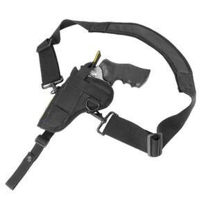 "Crossfire Shooting Gear Alaskan Shoulder Holster Ambidextrous 6"" Medium Frame Revolver Nylon Black"