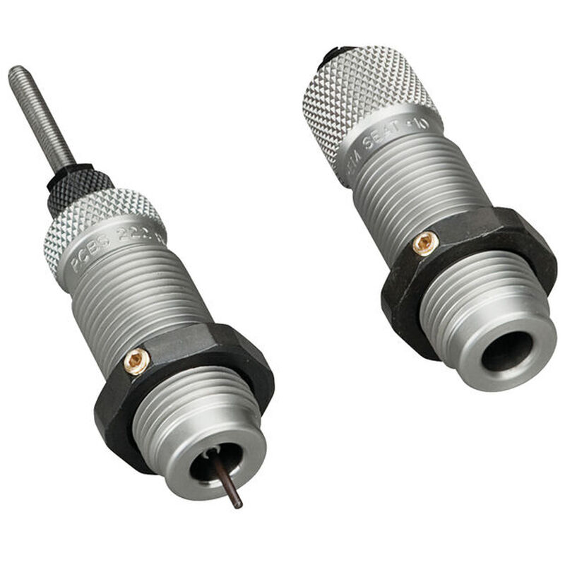 RCBS 6.5 Grendel Full Length Die Set Sizer, Crimping with Seater Plug