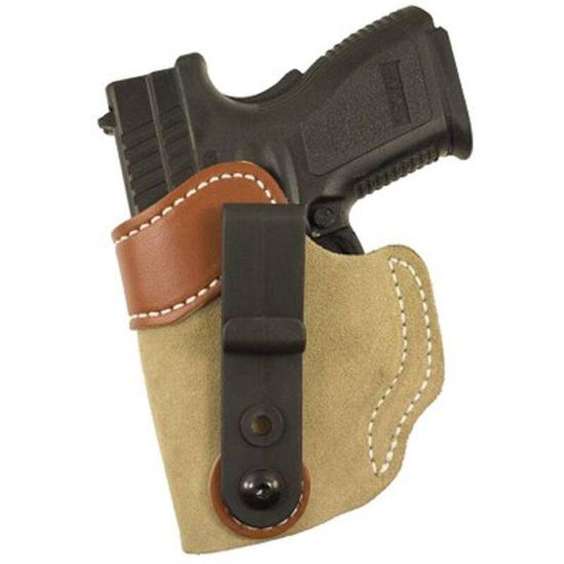 "DeSantis 106 Sof-Tuck IWB Holster Springfield XD 9/40 3"" Left Hand Leather Tan 106NB77Z0"