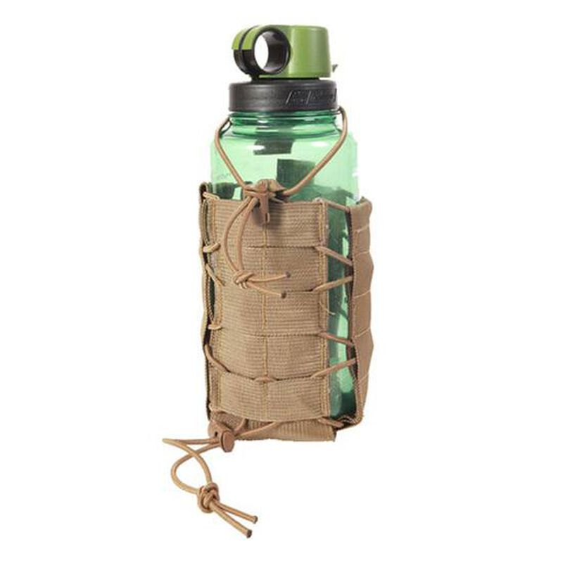 HSGI Soft TACO MOLLE Water Bottle Pouch, Coyote Brown