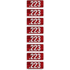 MTM Ammo Caliber Labels .223 8 Pack
