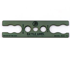 Battle Arms Development M14 / M1A & M1 Garand Gas Cylinder Lock Wrench 7075-T6 Aluminum Anodized OD Green