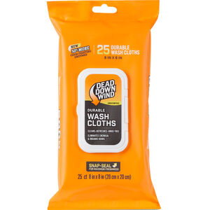 Dead Down Wind Field Wash Cloths Value Pack 25 Count Unscented