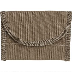 """Voodoo Tactical, Name Card Pouch, 4""""x2.5"""", Nylon, Coyote"""