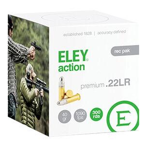 Eley Action .22 Long Rifle Ammunition 300 Rounds LRN 40 Grains 03230
