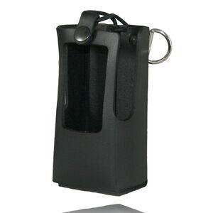 Boston Leather Kenwood NX300 Radio Holder Leather Black 5616RC-1