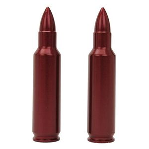 A-Zoom 243 WSSM Rifle Metal Snap Caps Aluminum Red 2 Pack