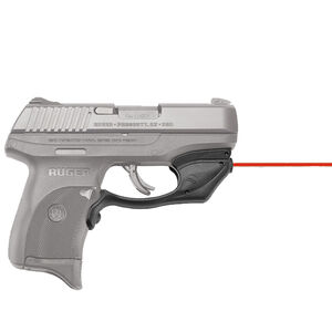 Crimson Trace LaserGuard Ruger LC9/LC9S/LC380/EC9S Red Laser 1/3N Lithium Battery Polymer Housing Matte Black Finish