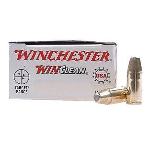 Winchester Winclean .357 Sig Ammunition 50 Rounds, BEB, 125 Grain