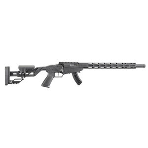 "Ruger Precision Rimfire .22 Long Rifle Bolt Action Rifle 18"" Barrel 15 Rounds M-LOK Handguard Black"