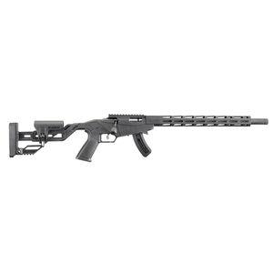"Ruger Precision Rimfire .22 Long Rifle Bolt Action Rifle 18"" Barrel 15 Rounds M-LOK Handguard Black"