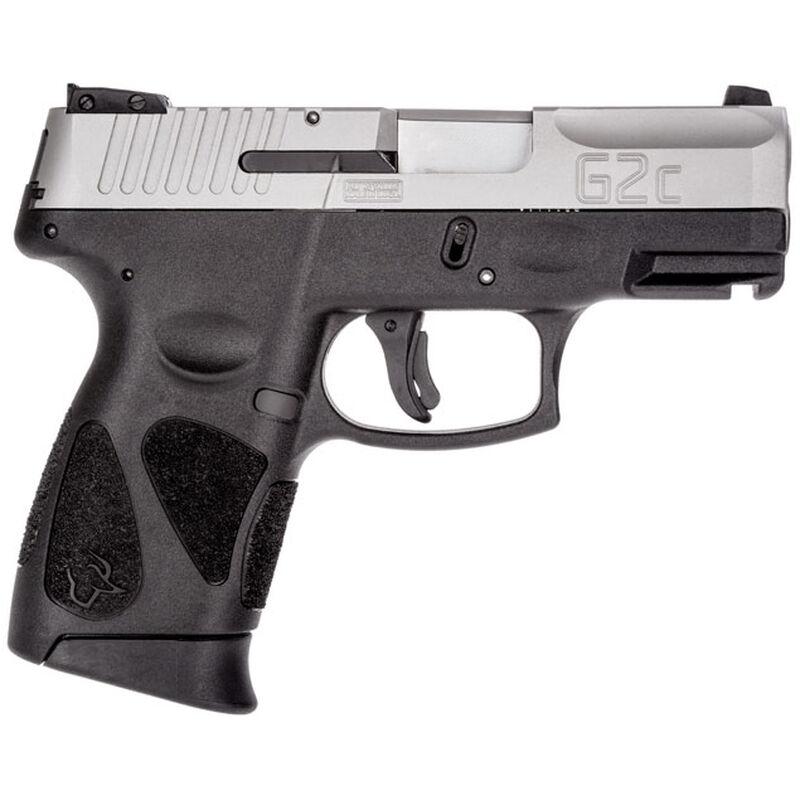 "Taurus G2C Semi Auto Pistol .40 S&W 3.2"" Barrel 10 Rounds 3 Dot Sights Black Polymer Stainless Finish"