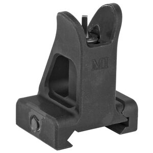 Midwest Industries AR-15 Combat Rifle Fixed Front Sight Picatinny Mount Aluminum Black
