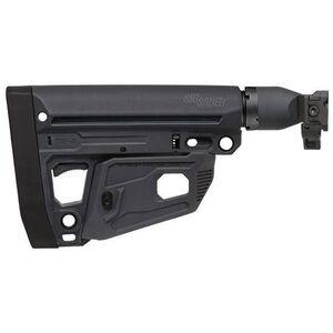 SIG Sauer MCX/MPX M4 Style Folding Stock Polymer Black STOCK-X-FOLD-M4-BLK