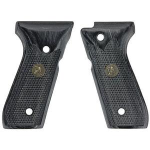 Pachmayr Beretta 92FS Laminate Grips Black/Grey