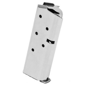 Springfield Armory 911 Series 6 Round Magazine .380 ACP Stainless Steel Natural Finish