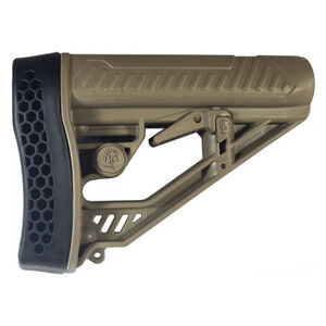 Adaptive Tactical EX Performance AR-15/AR-10 Adjustable M4-Style Stock Mil-Spec FDE AT-02012-E