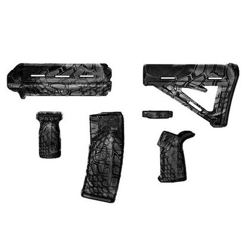Matrix Diversified Industry AR-15 Magpul Furniture Kit Mil-Spec Polymer Typhon Camo Finish MAGMIL37TY