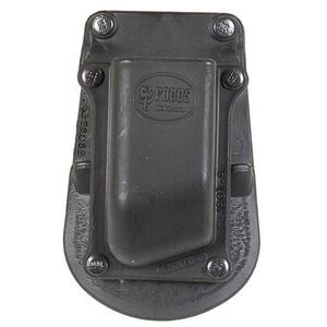 Fobus Paddle Magazine Pouch 1911 .45 ACP Single Stack Right Hand Polymer Black 390145