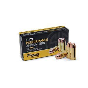 SIG Sauer Elite 9mm Ammunition, 50 Rounds, FMJ, 115 Grain