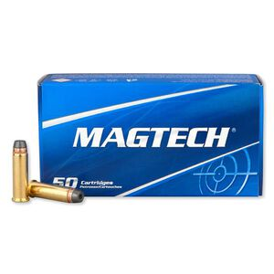 Magtech .38 Special Ammunition 50 Rounds, SJHP, 158 Grains