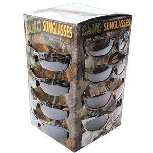 Rivers Edge Products Camo Sunglasses 36 Pair Retail Display Assorted Colors 300