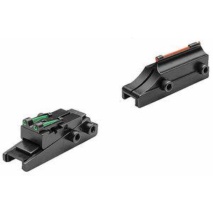 TRUGLO 6mm Pro-Series Slug Gun Fiber Optic Sights Contrasting Colors TG962C
