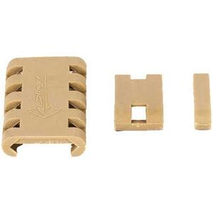 JE Machine Tech AR-15 Stinger 20 Piece Picatinny Weaver Rail Cover Polymer Tan 20 Pack