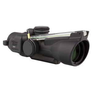 Trijicon ACOG TA50C 3x24 Compact Rifle Scope Low Height Illuminated Green Crosshair 7.62x39mm 123 Grain Reticle 1/2 MOA Aluminum Black TA50-C-400237