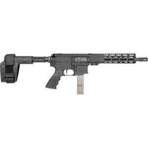 "Rock River LAR-9 9mm Luger AR-15 Semi Auto Pistol 10.5"" Barrel 32 Rounds Uses Colt Style SMG Mags RRA M-LOK Free Float Handguard SB-Tactical Pistol Brace Black"
