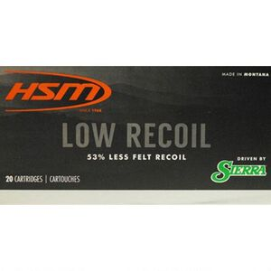 HSM Low Recoil .30-06 Spring Ammunition 20 Rounds 150 Grain Sierra SBT