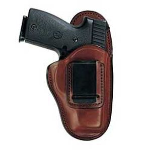 "Bianchi #100 Professional Inside-the-Pants Holster 4"" Barrel Auto Size 10 Right Hand Leather Tan 19230"