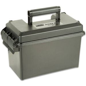 MTM Case-Gard .50 Caliber Ammo Can AC50 Double Pad Lock Tabs Rugged Polypropylene Forrest Green