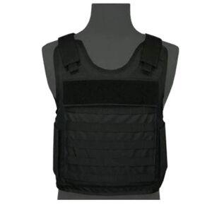 Premier Body Armor Eagle Tactical Vest Small NIJ Certified Level IIIA Black