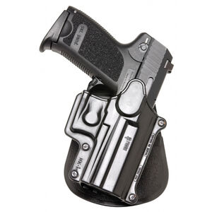 Fobus Roto-Paddle/Belt Holster H&K/Ruger/S&W/Taurus/Walther Left Hand Polymer Black HK1RPL