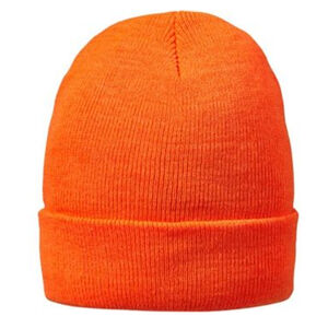 Hot Shot Basics 2-Ply Knit Cap Commander Blaze Orange