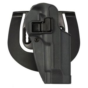 BLACKHAWK! SERPA Sportster Paddle Holster For GLOCK 17/22/31 Right Hand Polymer Gray 413500BK-R