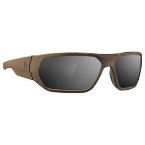Magpul Radius Eyewear Gray/Silver Mirror Polycarbonate Lens Z87+ and MIL-PRF 32432 Rated TR90NZZ Frame Flat Dark Earth