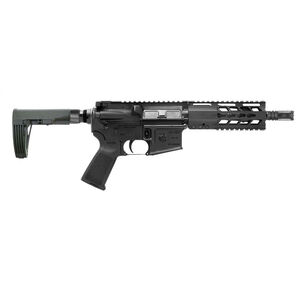 "Diamondback Firearms DB15 AR-15 5.56 NATO Semi Auto Pistol 7"" Barrel 30 Rounds Free Float Hand Guard Tailhook Mod 2 Pistol Stabilizing Brace Matte Black"