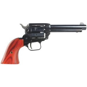 "Heritage Manufacturing Rough Rider Revolver .22 Long Rifle 4.75"" Barrel 6 Rounds Cocobolo Grips Blue Finish RR22B6"