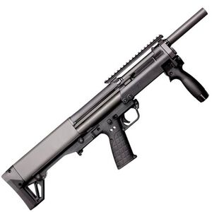 "Kel-Tec KSG-NR Pump Action Shotgun 12 Gauge 18.5"" Barrel 3"" Chamber 8 Rounds Dual Tube Magazines Downward Ejection Ambidextrous Synthetic Stock Matte Black Finish"