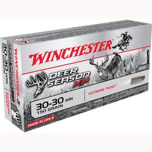 Winchester .30-30 Winchester Ammunition 20 Rounds Deer Season XP PT 150 Grains