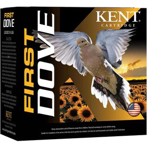 "Kent Cartridge First Dove 12 Gauge Ammunition 2-3/4"" Shell #7.5 Lead Shot 1oz 1300fps"