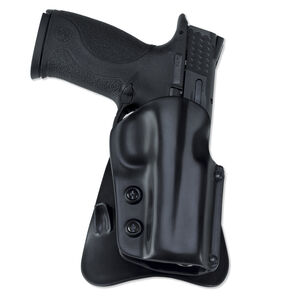 Galco M5X Matrix Paddle Holster Glock 20 21 & 37 Right Hand Plastic Black