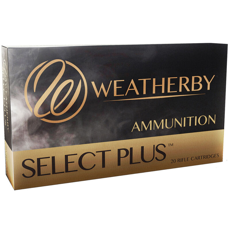 Weatherby Select Plus .30-378 Weatherby Magnum Ammunition 20 Round Box 220 Grain Hornady ELD-X Projectile 3050 fps