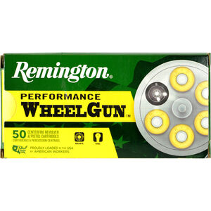 Remington Performance Wheelgun .38 Special Ammunition 50 Rounds 148 Grain Lead TMWC 710fps